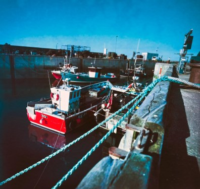 Hasselblad 903 SWC images - Boats - Kodak Portra 400