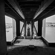 Hasselblad 903 SWC images - Bridge - Kodak Portra 400