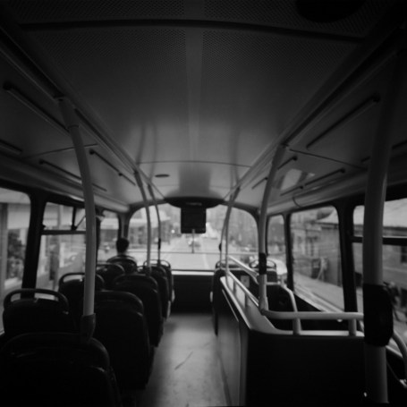 Hasselblad 903 SWC images - Bus - ILFORD Delta 100 Professional