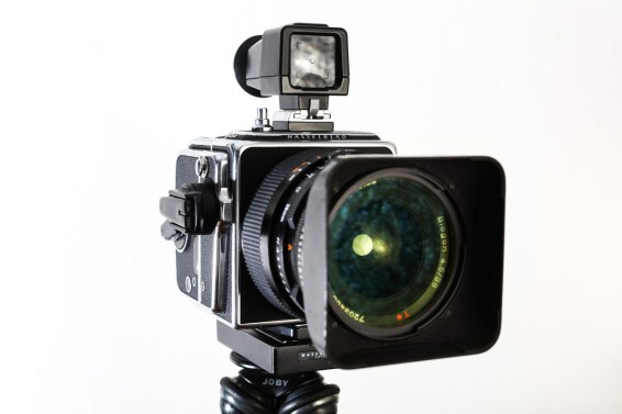 Hasselblad 903 SWC review - Front-on