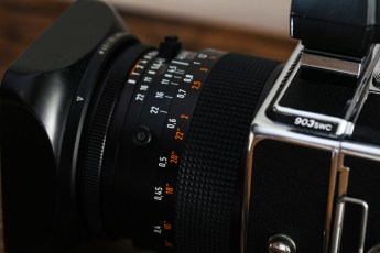 Hasselblad 903 SWC review - Up close