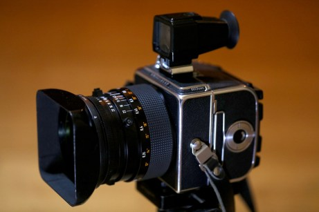 Hasselblad 903 SWC with optical viewfinder and film magazine