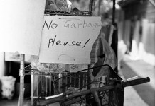 No garbage! - Shot on Kodak T-MAX 400 at EI 400. Black and white negative film in 120 format shot as 6×6.