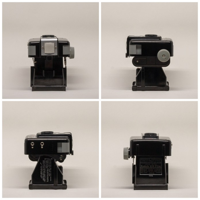 Kodak Brownie Hawkeye Flash Model - Front half