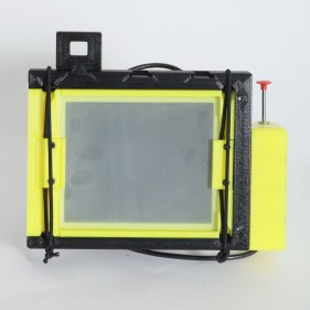 CAMERADACTYL OG 4x5 ground glass (plain acrylic)