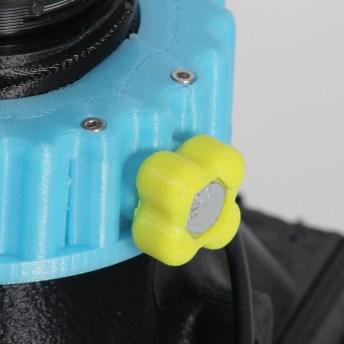 CAMERADACTYL OG 4x5 helicoid lock - focus tab