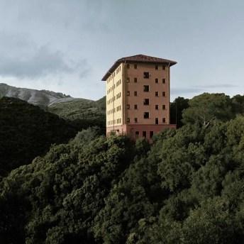 Albergo Operaio, Montevecchio, Sardinia, 2016 - Rolleiflex T, Kodak Ektar 100