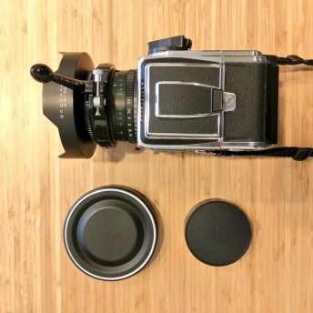 Hasselblad 2000FCW - Converted Zodiak-B 30mm fisheye lens