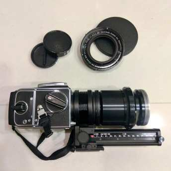 Hasselblad 2000FCW - Kodak Aero Ektar 178mm f2-5 + Automatic macro bellows extension