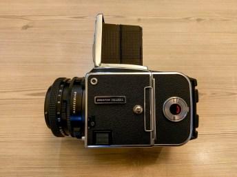 Hasselblad 2000FCW + Zeiss Planar F 80mm f2-8