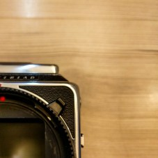 Hasselblad 2000FCW body - Front (shutter speed selector dial)