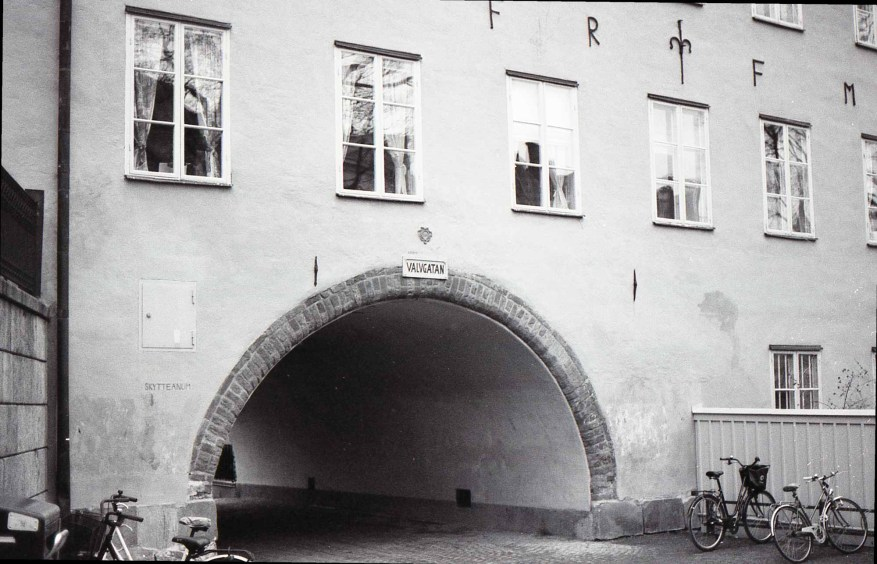 Uppsala, Sweden - Nikon F4   Ilford XP2 Super