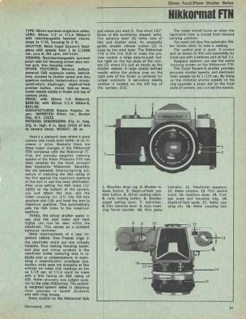 Modern Guide 1967 - Nikkormat FTN