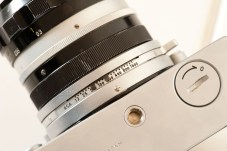 Nikkormat FTn film speed selector
