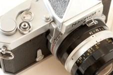 Nikkormat FTn film speed selector