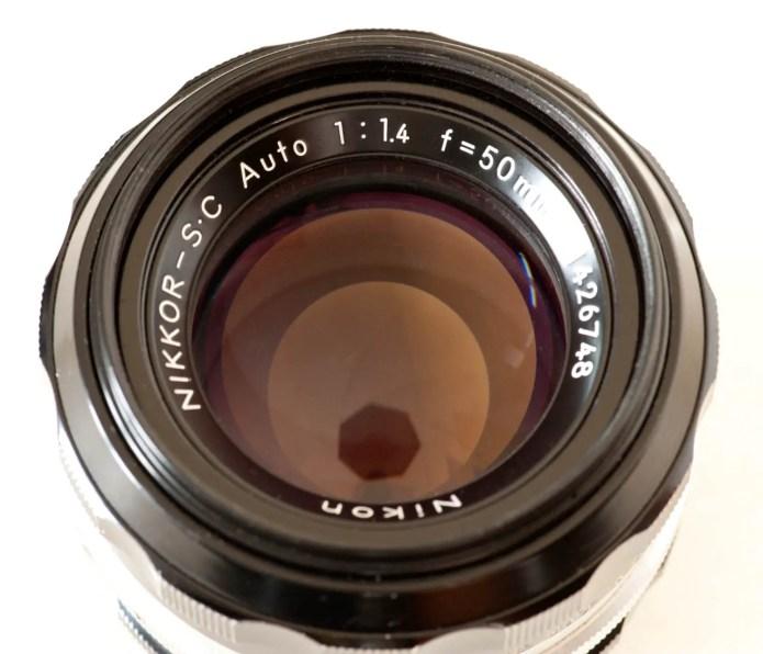 Nikkor-S Auto 50mm f/1.4
