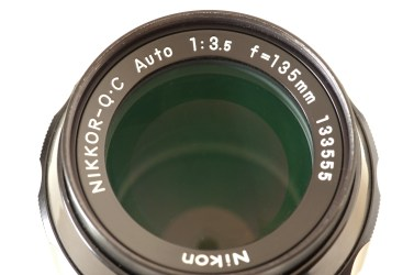 Nikkor-QC Auto 135mm f/3.5