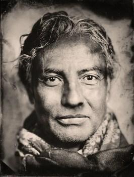 Justing Borucki tintype portrait