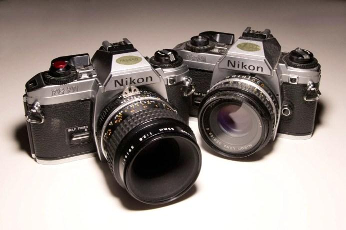 My pair of Nikon FG-20's