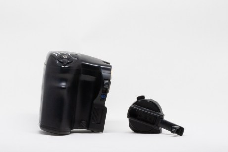 Mamiya 645 Power Drive Grip WG401 and Film Advance Crank AC401