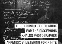 Appendix B of the Technical Field Guide for the Discerning Analog Photographer: Metering for finite and infinite multiple exposures