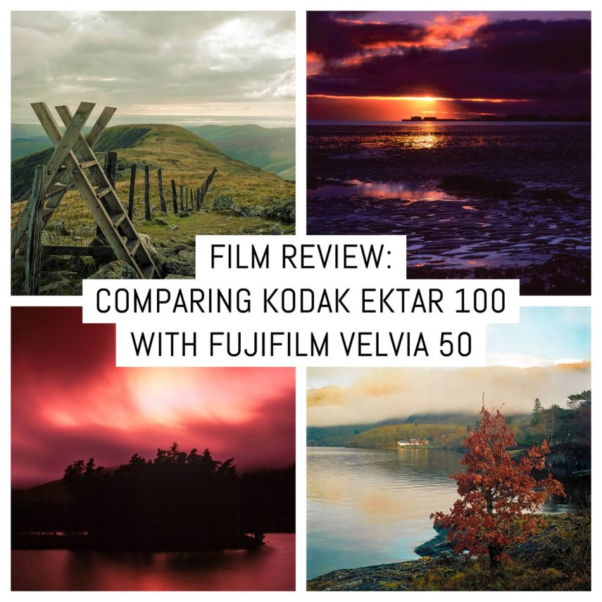 Cover - Film review- Comparing Kodak Ektar 100 to Fujifilm Velvia 50