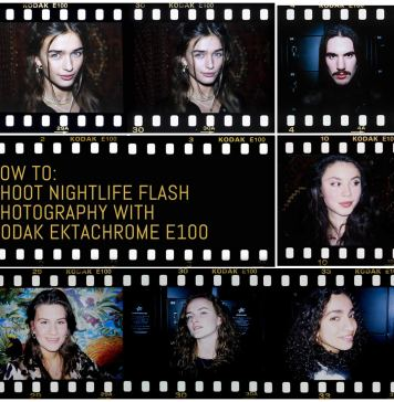 Cover - How to- Shoot nightlife flash photography with Kodak Ektachrome E100