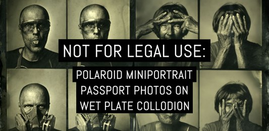 Cover: Not for legal use- passport photos on wet plate collodion v2