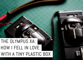Cover - The Olympus XA, how I fell in love with a tiny plastic box