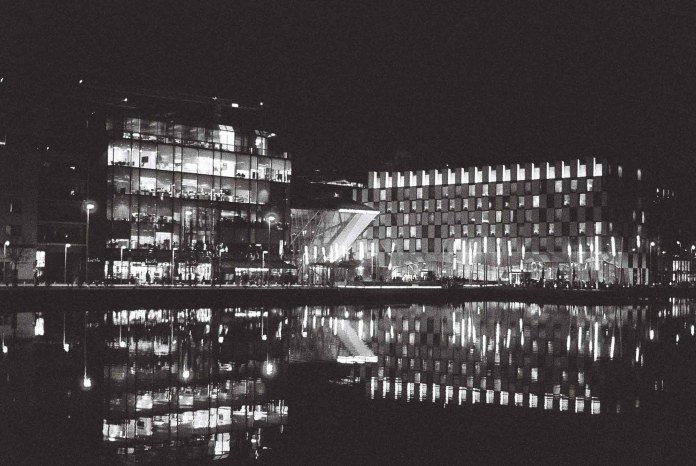 Grand Canal Docks - 5 Frames With... ILFORD Delta 3200 Professional (EI 6400 _ 35mm _ Minolta SRT100x) - by Maxime Evangelista
