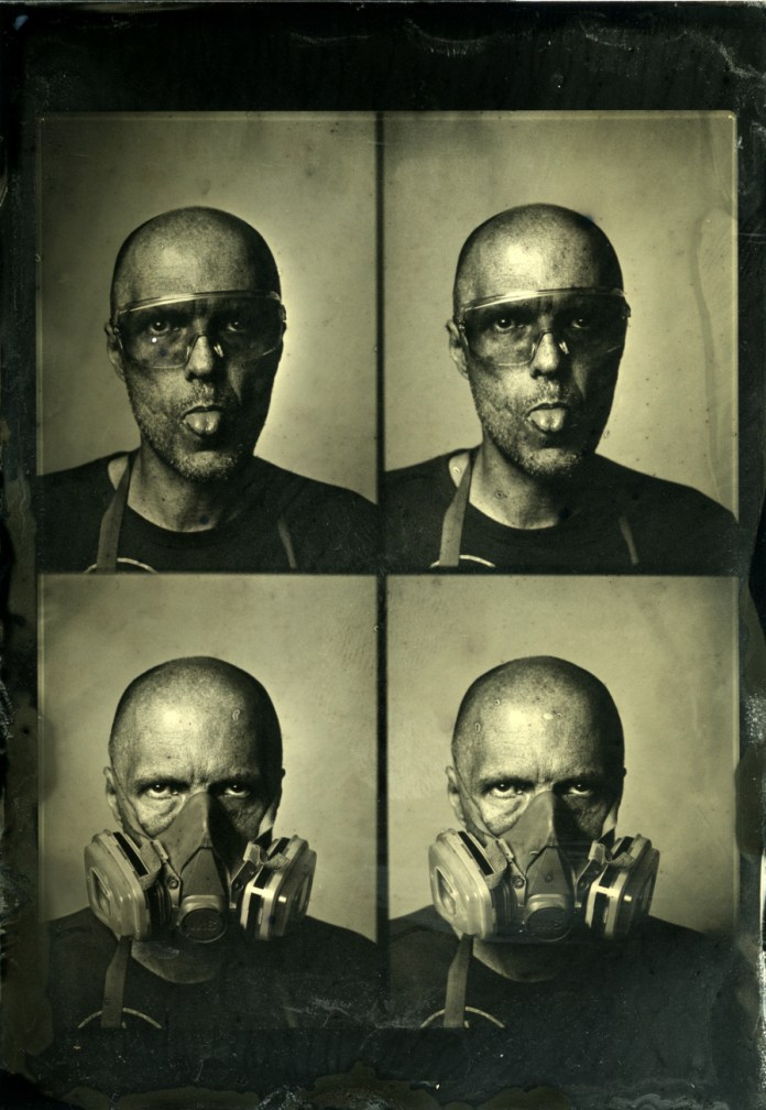 Markus Hofstaetter - Wet plate passport photography