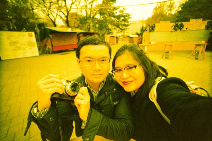 Lomography LC-Wide, Lomography Xpro Chrome 200