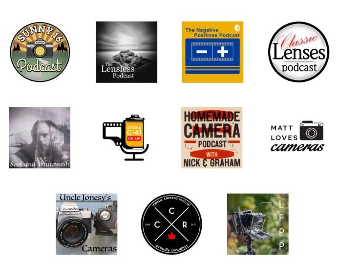 Classic Film Negatives Sunny Lensless Studio Podcast