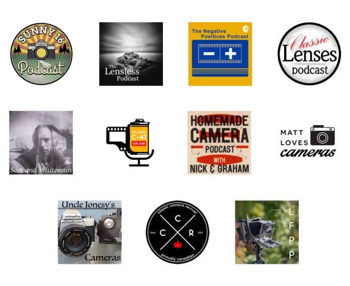 Classic Film Negatives Sunny Lensless Studio Podcast