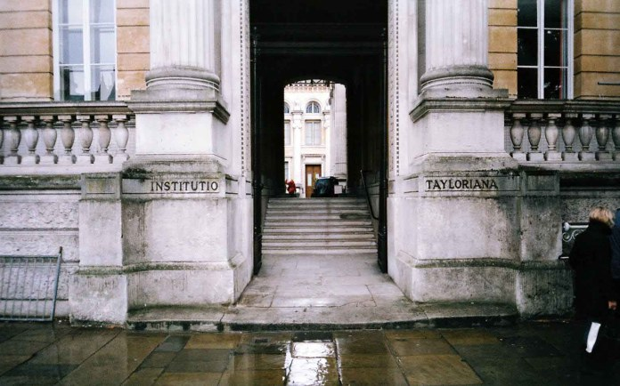 James Davies - Taylorian Institute, Oxford, UK
