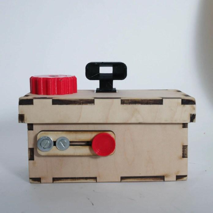 Cameradactyl X-Pin