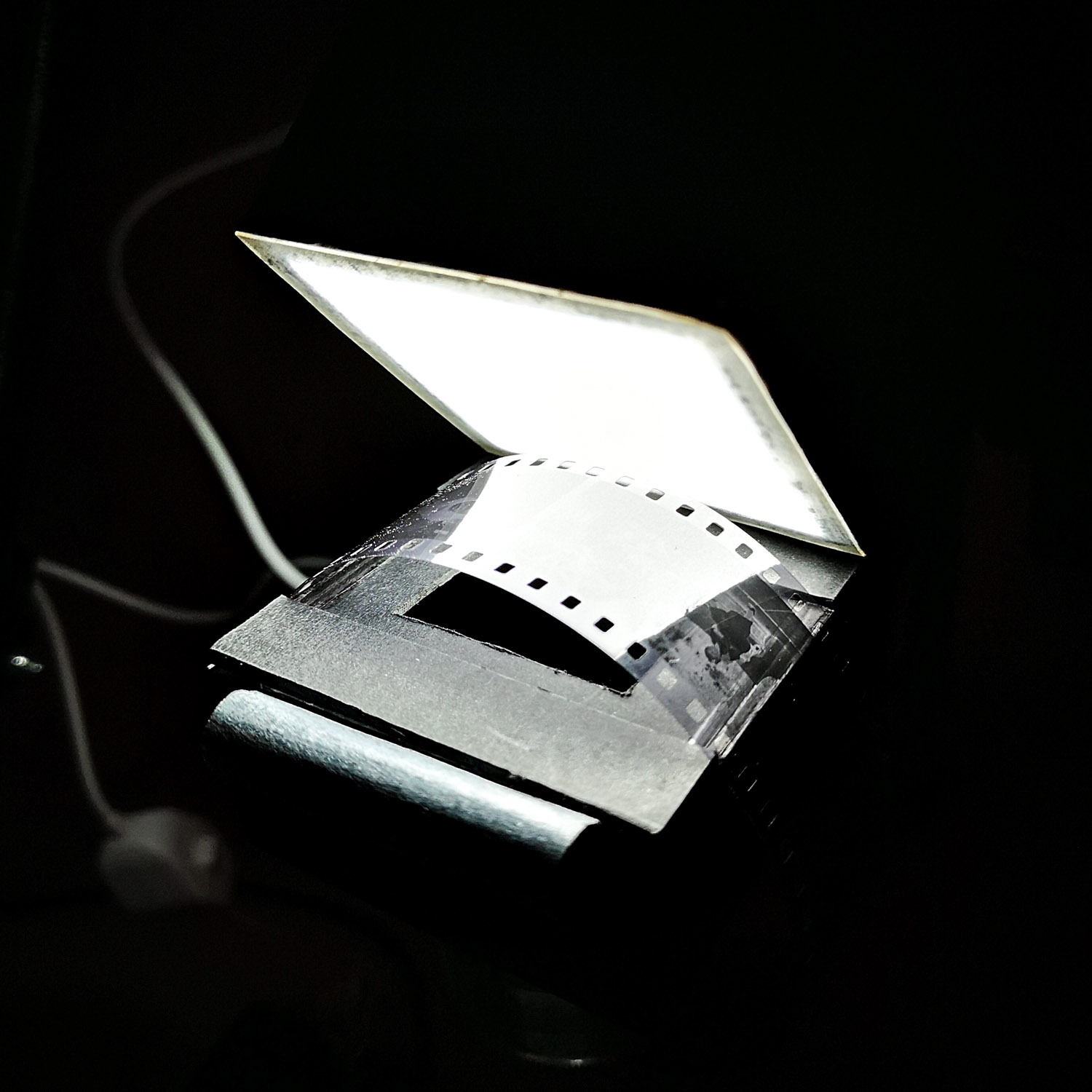 Film, mask and lamp