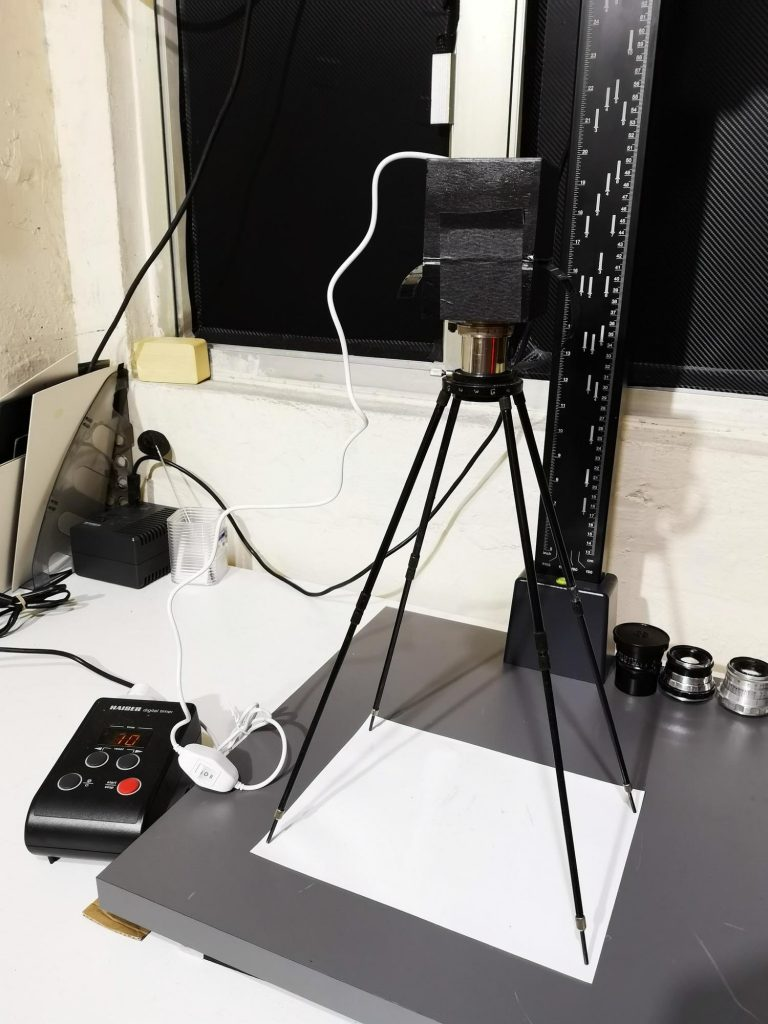 The finished Simple Enlarger