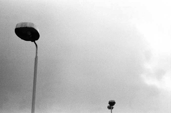 'Audacious Me' 2013. Image from Abysses of Solitude show. Praktica B200 with ILFORD HP5 PLUS