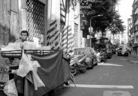 Cover: Hungry work - Shot on ILFORD Delta 400 Professional at EI 400. Black and white negative film in 35mm format. Horizon 203 S3 Pro