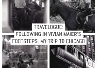 Cover: Travelogue - Following in Vivian Maier's footsteps, my trip to Chicago