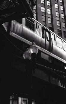 Following in Vivian Maier's footsteps - L Train