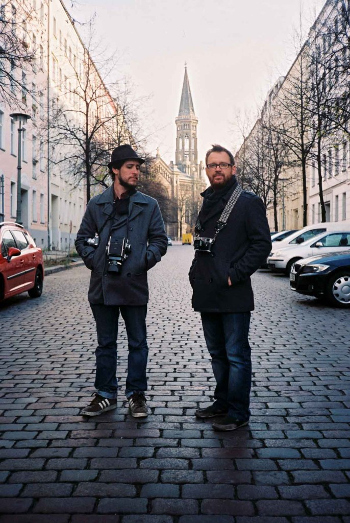 Matt and Brian in Berlin