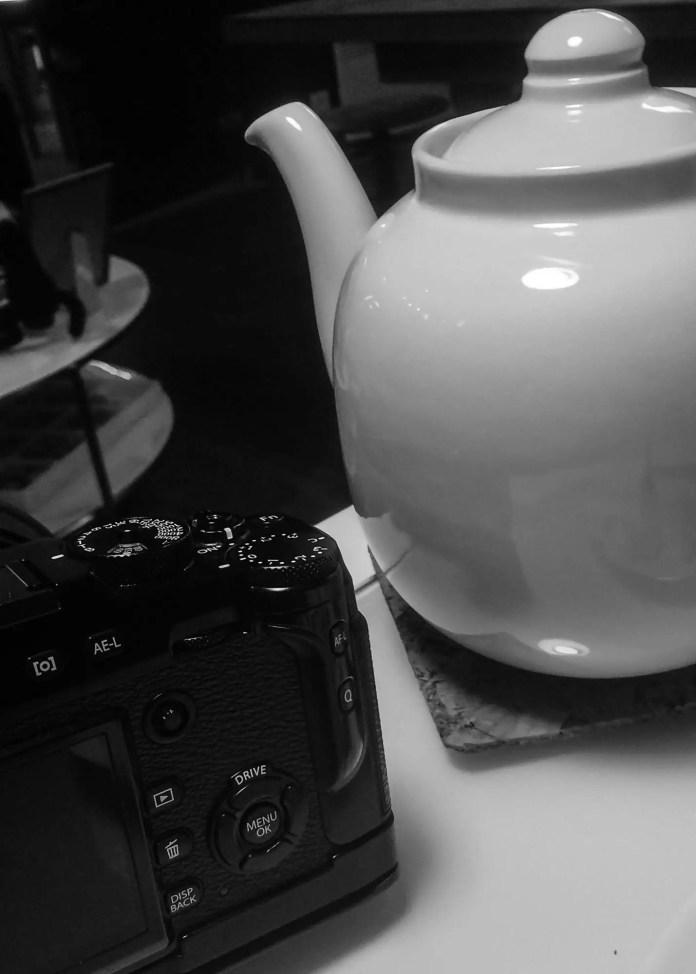 Tea meets Fuji.