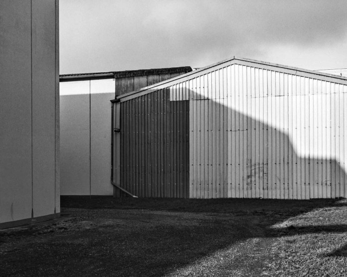 Warehouse architecture - M6, Elmarit-M 28mm, Adox HR-50