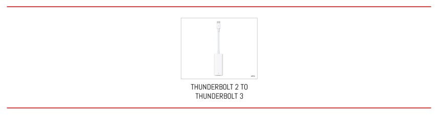 From Thunderbolt 2 to Thunderbolt 3 in one step.