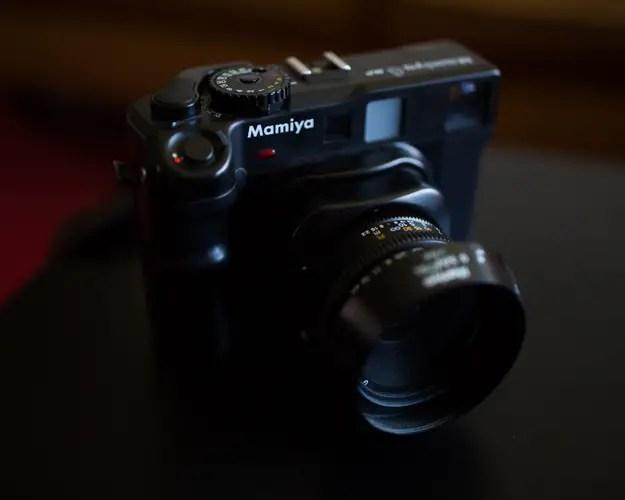 Mamiya M6 MF - Front