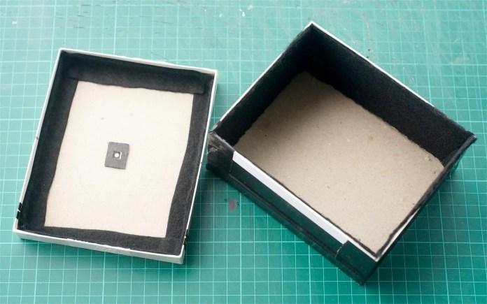 4x5 Pinhole build - Positioning the pinhole