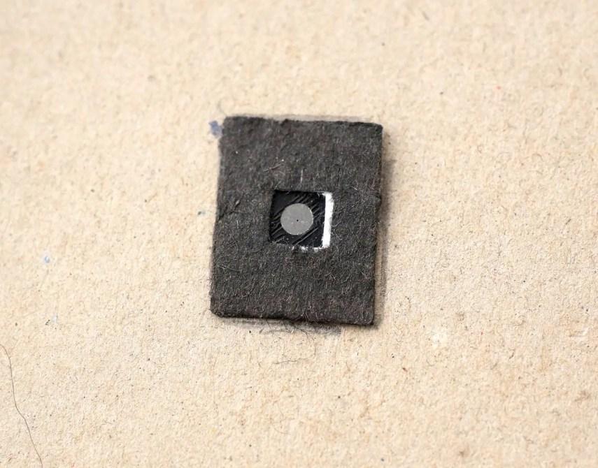 4x5 Pinhole build - Inside the box