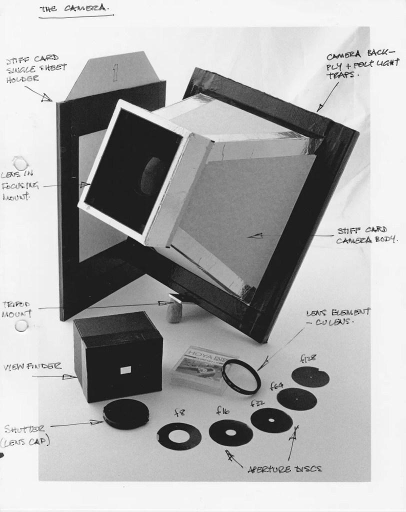 8x10 Pinhole build for bromide paper
